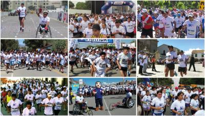 Conozca por qué corrieron en simultáneo 10 000 personas en siete regiones del Perú