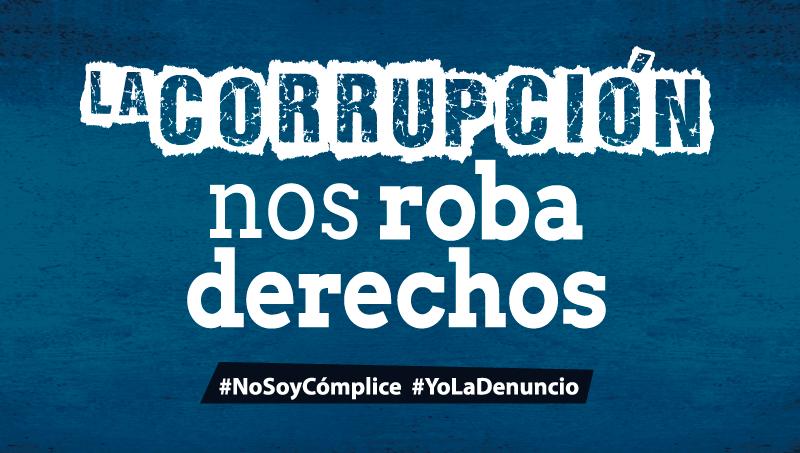Frente a la lucha contra la corrupción el Estado debe