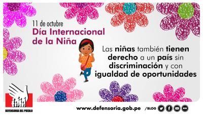 Ser niña en el Perú
