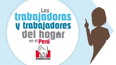 Infografía: La situación de los derechos de las trabajadoras y trabajadores del hogar