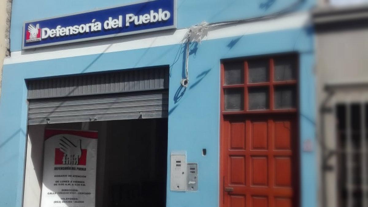 Foto de fachada de la oficina de Moquegua