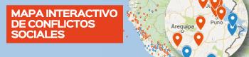 Mapa interactivo de Conflictos Sociales