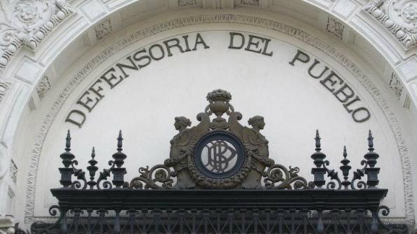 Fachada de la Defensoría del Pueblo en Lima