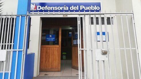 Fachada de oficina defensorial en Puno