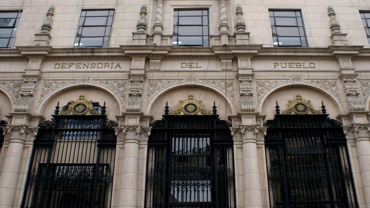 Foto de fachada de oficina principal