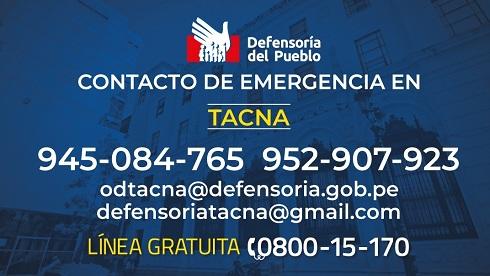 Tacna: Defensoría del Pueblo continúa atendiendo a personas sordas con intérprete de lengua de señas