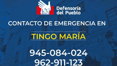 Defensoría del Pueblo: establecimientos de salud deben entregar certificado de nacido vivo en Tingo María