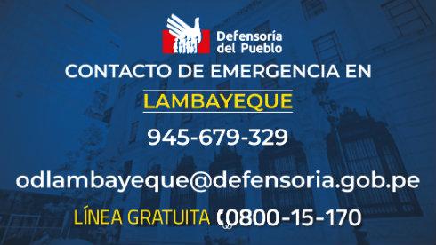 Lambayeque: gestionamos acceso a la salud