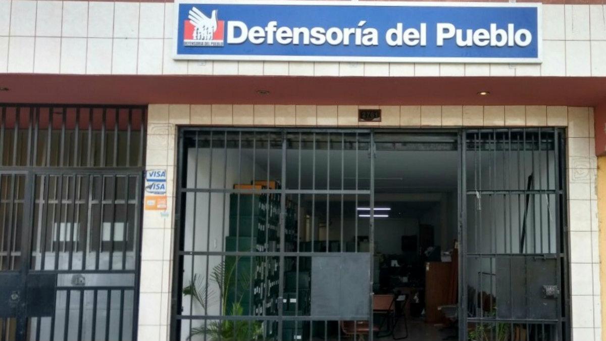 fachada de oficina de la Defensoría - Lima Norte