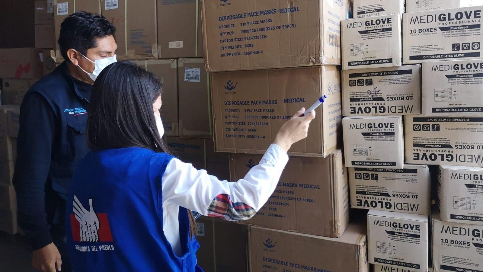 Defensoría del Pueblo: urgen acciones para garantizar la adecuada manipulación de medicamentos en almacén de La Libertad