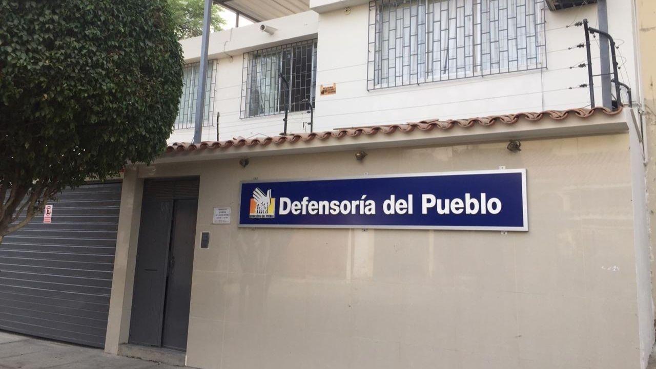 Fachada de la oficina en Piura
