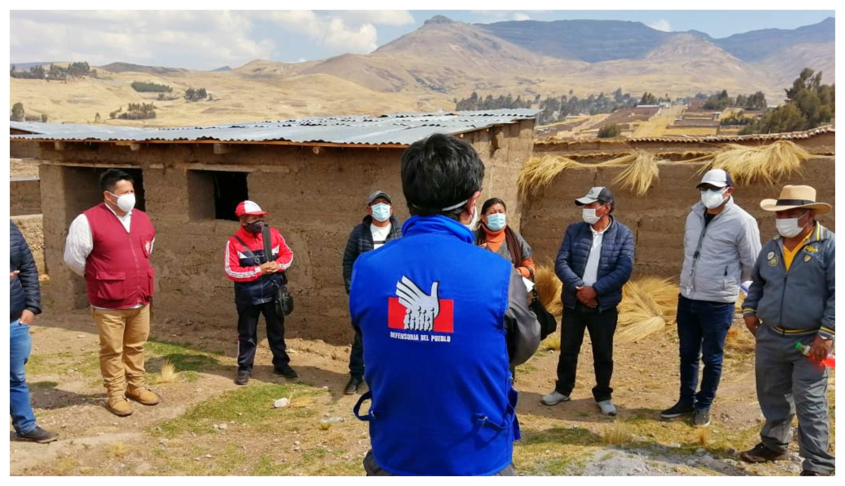 Defensoría del Pueblo: debe mantenerse el diálogo en conflicto por tierras entre comunidades de Huancavelica