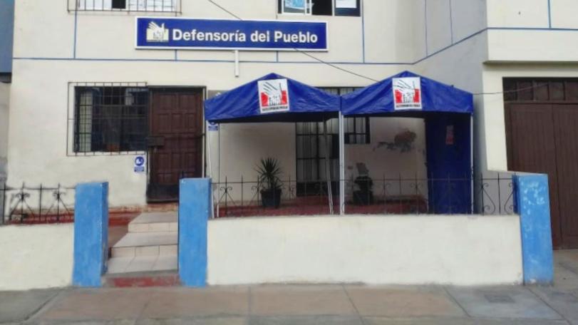 fachada oficina defensorial Lima Sur