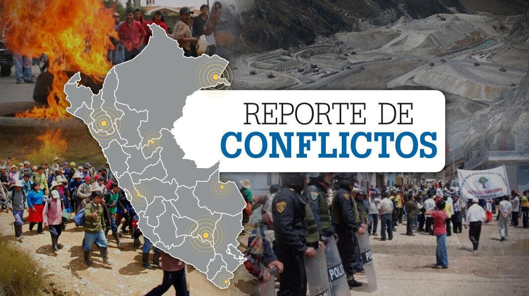 Gráfico de Reporte de Conflictos Sociales