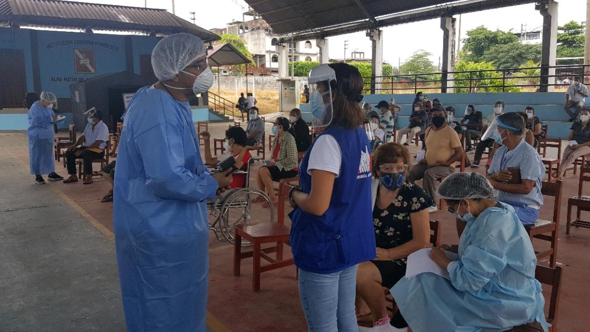 Defensoría del Pueblo: Diresa debe mejorar difusión del proceso de vacunación a personas adultas mayores de 60 años a más y mejorar el acceso a centros