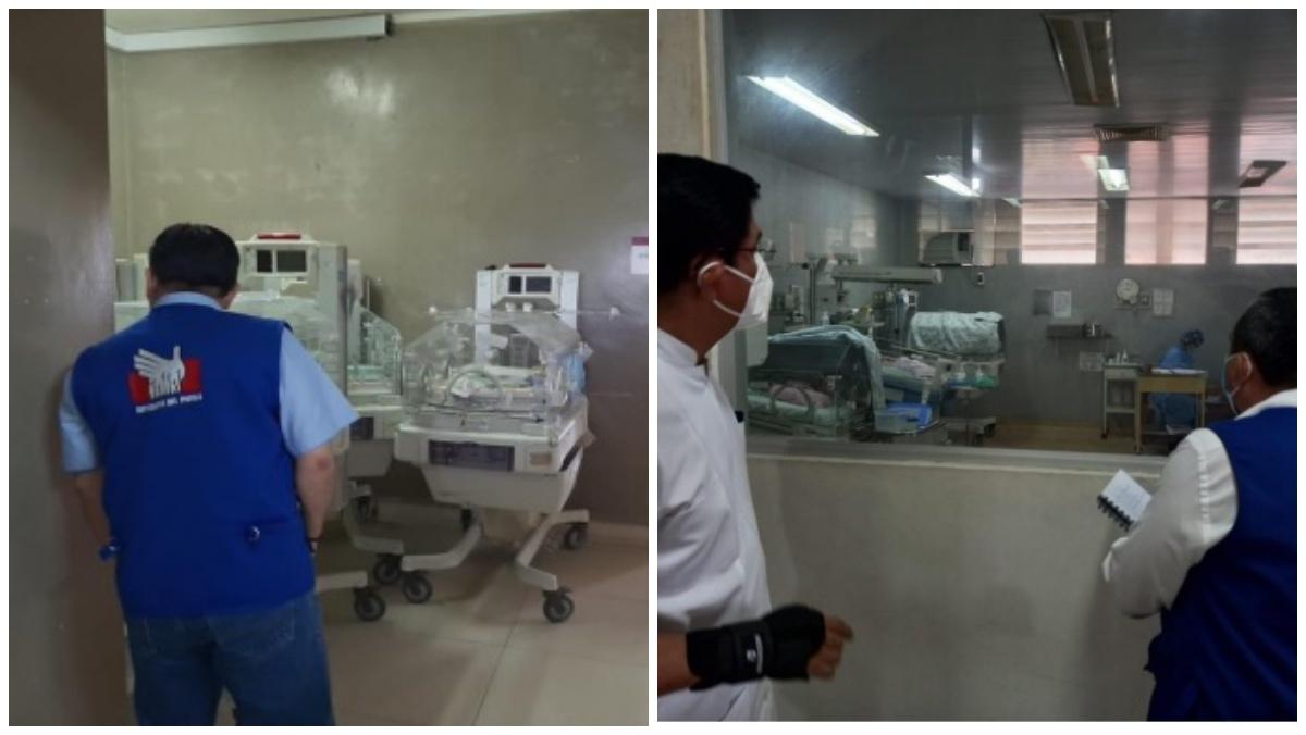 Fotos del área de neonatología