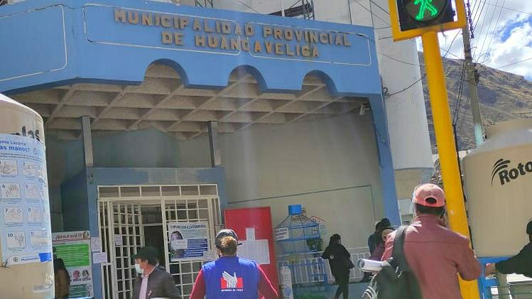 Foto de fachada de Municipalidad de Huancavelica